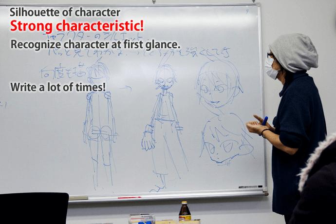 Manga course class report (vol1)!!