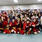 Japanese  Awa Dance show