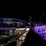 """""""キラキラ""""Tokyo Dome City illumination."""