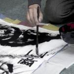 墨絵体験/Painting Sumie