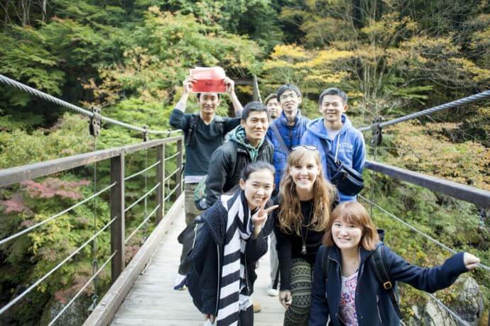 鳩ノ巣渓谷ハイキング/Hiking at Hatonosu valley