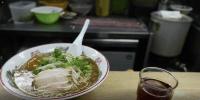 九段日本語學院周邊的午餐店-豚骨拉麵