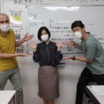 5日から新学期の授業が始まりました~  Classes for the new semester started on 5th October.